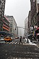 Blizzard Day in NYC (4391405747).jpg