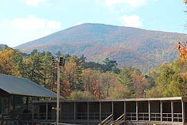 Blood Mountain from Vogel State Park, Oct 2016 2.jpg