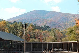 Blood Mountain - Blood Mountain, as seen from Vogel State Park