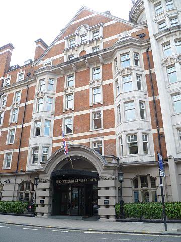Bloomsbury Hotel London Addreb