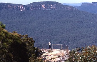 Leura, New South Wales - Image: Blue Mountains 0011