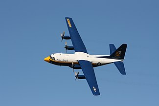US Navy Blue Angels Fat Albert (C-130T Hercules)