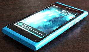 Nokia N9 - A blue N9