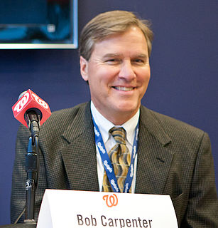Bob Carpenter (sportscaster) American sportscaster and announcer