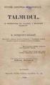 Bogdan Petriceicu Hasdeu - Talmudul, ca professiunea de credință a poporuluĭ israelitŭ.pdf