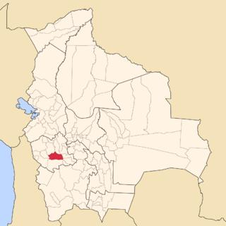 Sud Carangas Province