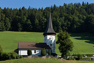 Boltigen - Boltigen village church