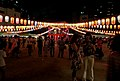Bon Odori, a style of dancing performed during Obon, Japan; August 2014 (02).jpg
