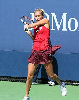 Alona Bondarenko - Bondarenko at the 2009 US Open