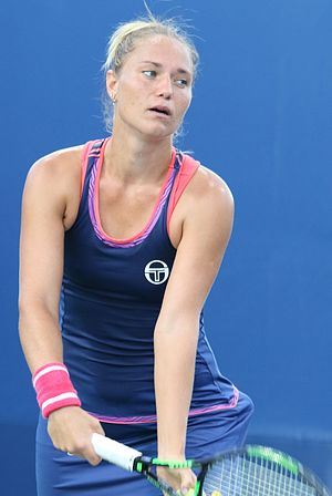 Kateryna Bondarenko - Bondarenko at the 2016 US Open