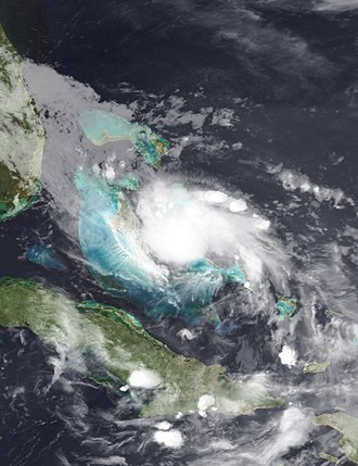 2010 Atlantic hurricane season - Image: Bonnie 2010 07 23 0327Z