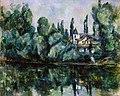 Bord de la Marne, par Paul Cézanne, Hermitage Museum, Yorck.jpg