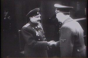 Military history of Bulgaria during World War II - King Boris and Adolf Hitler, 1943