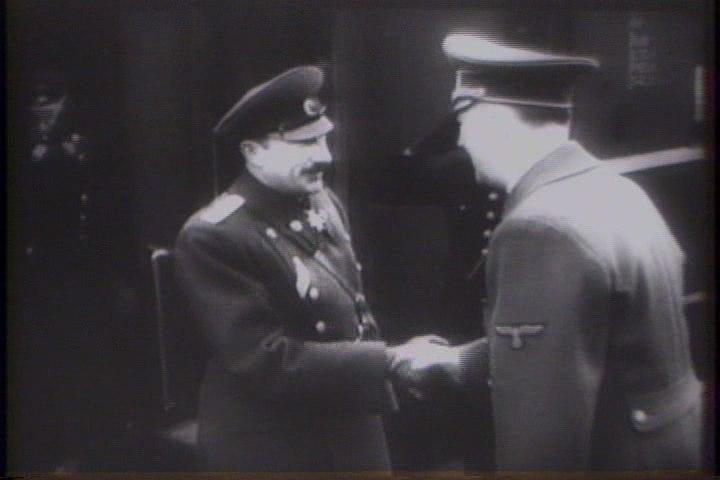 Boris III de Bulgarie en compagnie d'Hitler