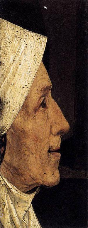 Head of a Woman (Bosch) - Image: Bosch Head Of A Woman Fragment