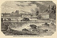Boston and maine rr bridge saco 1879
