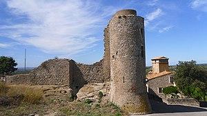 Bouilhonnac - Ruins of the chateau