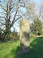 Boundary stone, Marshfield - geograph.org.uk - 630811.jpg