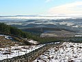 Boundary wall and view across Glen Earn - geograph.org.uk - 656203.jpg
