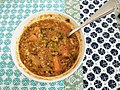 Bowl of lentil soup with green and red lentils.jpg