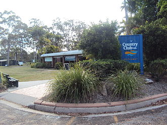 Boyne Island, Queensland - Entrance to Boyne Island Tannum Sands Golf Course