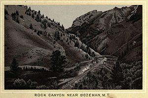 Bozeman Pass - Image: Bozeman Pass 1884