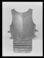 Bröstharnesk för fottornering vid Gustav II Adolfs bröllop 1620 - Livrustkammaren - 25897.tif
