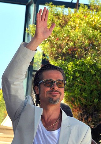 The Tree of Life (film) - Brad Pitt promoting the film at the 2011 Cannes Film Festival.