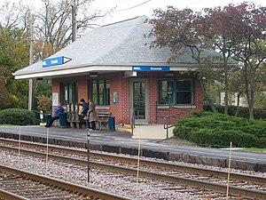 Braeside station - Image: Braeside Metra 061015