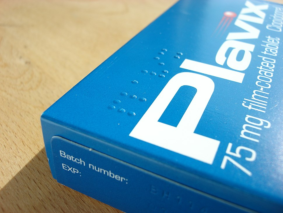 Braille on tablet box