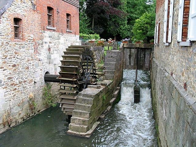 Mulino ad acqua di Braine-le-Château, XII secolo