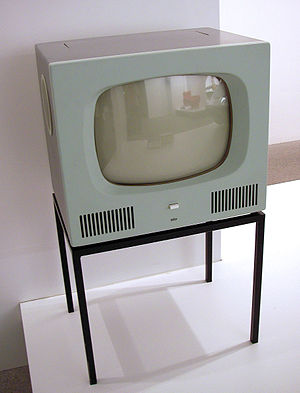 Braun HF 1 television receiver, Germany, 1958