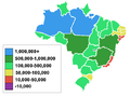 Brazilian States by Area.PNG