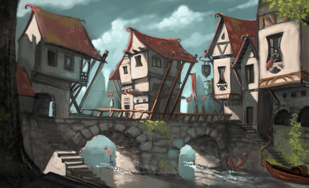 M di val fantastique wikip dia - Fantasy wallpaper bridge ...