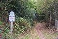 Bridleway enters Scords Wood - geograph.org.uk - 1536469.jpg
