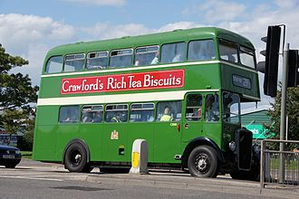Bristol Omnibus Company - Preserved Bristol K6G in Bristol in August 2011