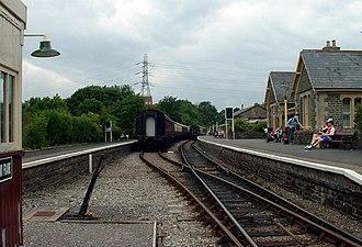 Bitton railway station - Image: Bristol bath path railway station