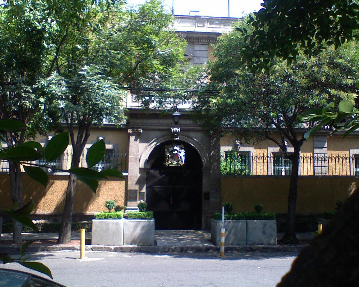 Embassy Of The United Kingdom, Mexico City