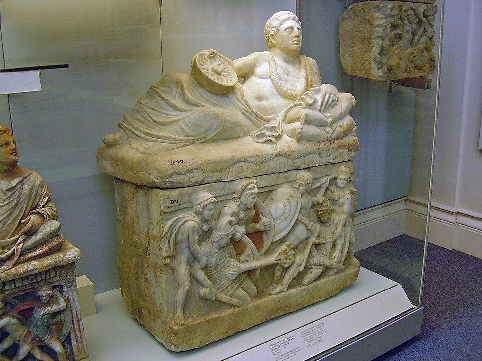 British Museum Etruscan burial