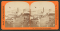 Broadway Wharf and River Steamers, by Thomas Houseworth & Co..png