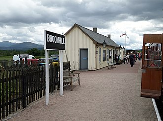 Broomhill railway station - Broomhill station in 2016