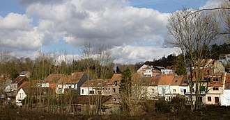 Watermael-Boitsfort - View of houses in Boitsfort