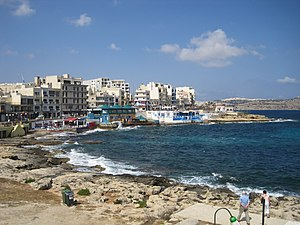 Buġibba - View of Buġibba