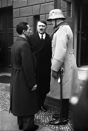 Remilitarization of the Rhineland - Goebbels, Hitler, and von Blomberg