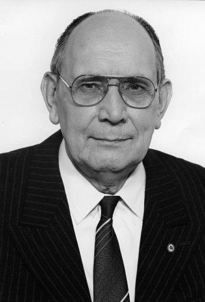 Alfred Neumann (East Germany) - Alfred Neumann in 1984.