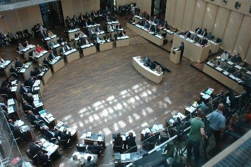 Bundesrat Chamber