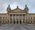Bundesverwaltungsgericht Leipzig Eingang 2013.jpg