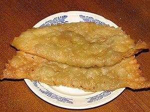 Crimean Tatar cuisine - Chiburekki