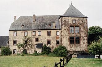 Dudeldorf Castle - Image: Burg Dudeldorf 01
