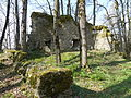 Burg Rothenstein (Bad Grönenbach) 18 - Nordwestwand.JPG